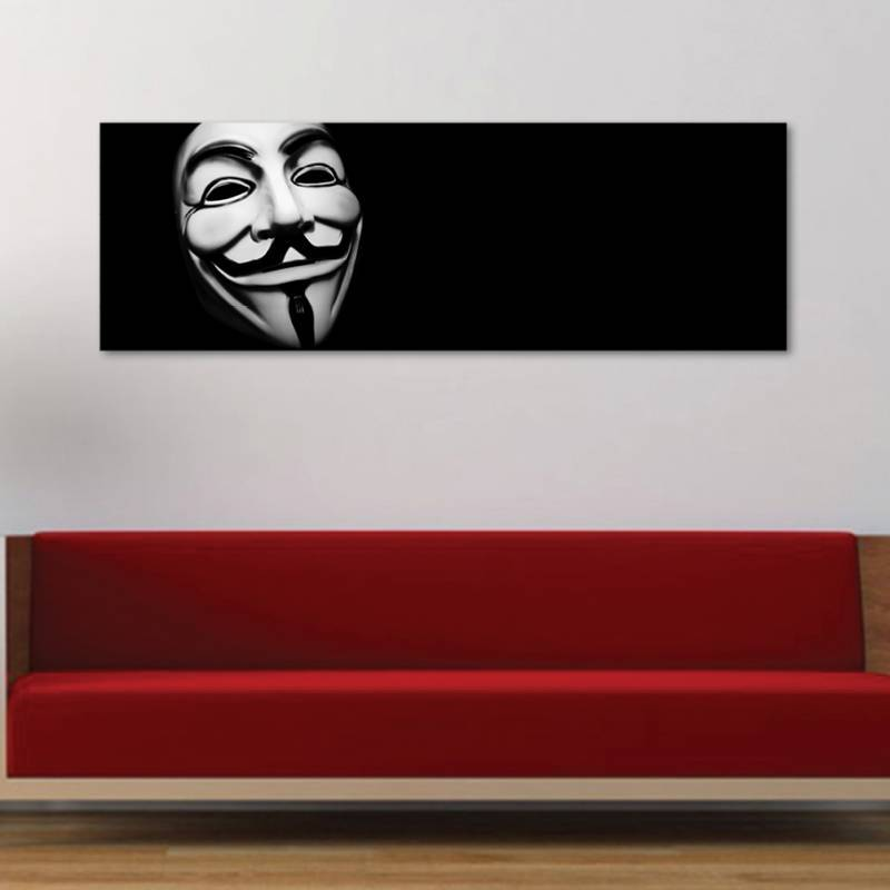 Anonymous - Guy Fawkes - vászonkép - 1